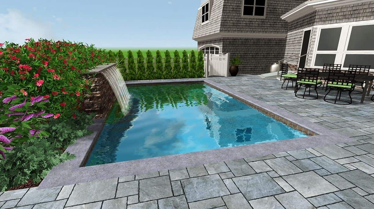 Wouldn t this be the perfect place to relax this beautiful for 10 ft garden pool