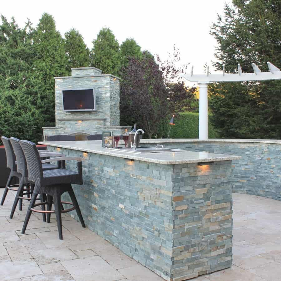 Custom Masonry | Cultured & Natural Stone Veneers Long Island