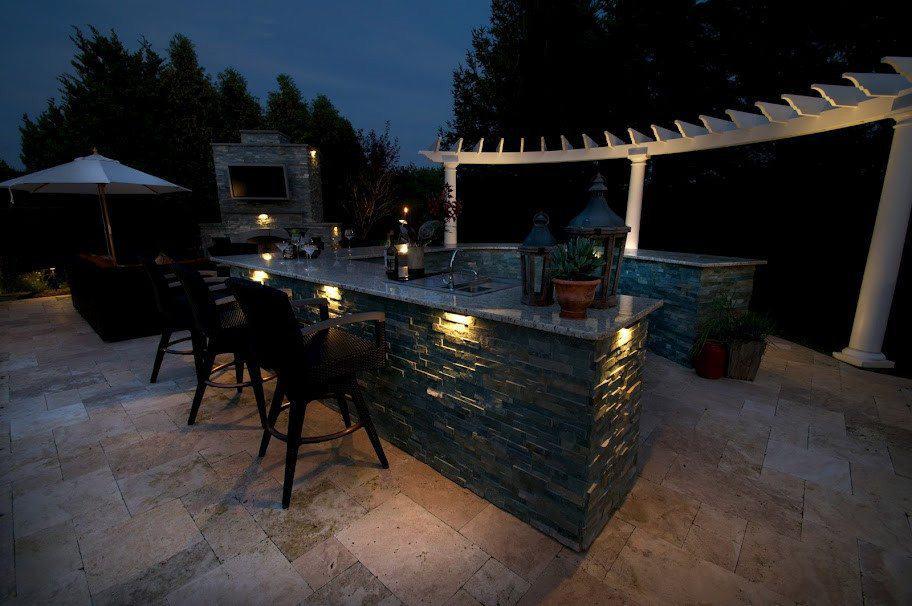 20' Radial Cedar Pergola - Southampton, Long Island NY