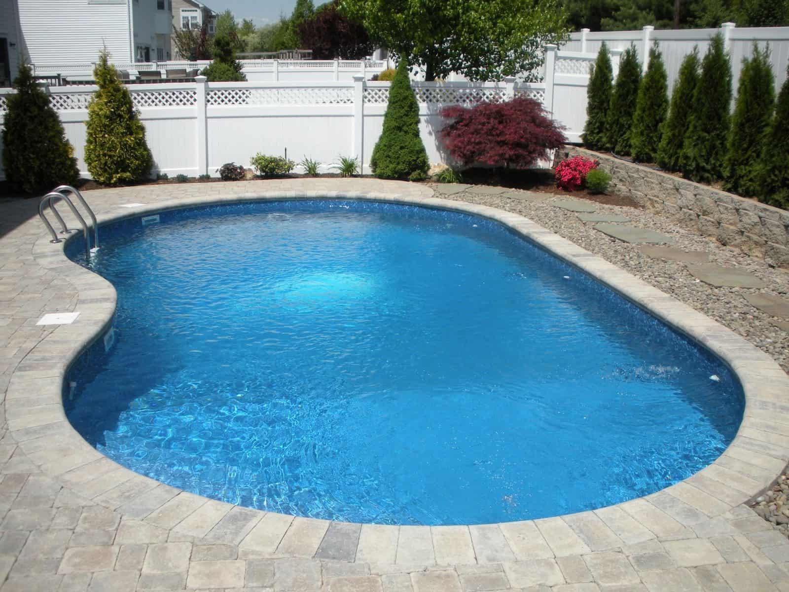16' x 32' free form pool - Melville, Long Island NY