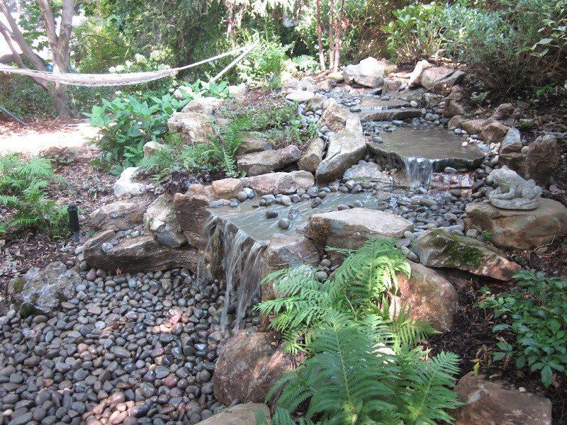 5' Stream and Moss Rock Pondless Waterfall - Port Washington, Long Island NY