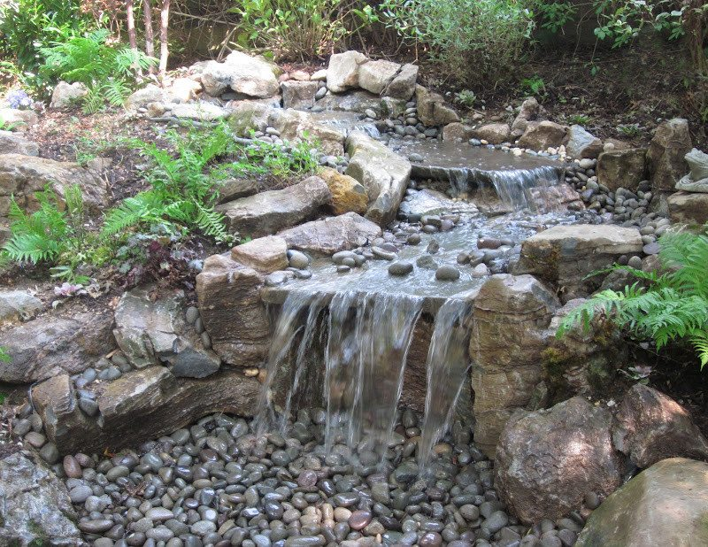 Unique Water Features Natural Waterfalls Amp Streams Long