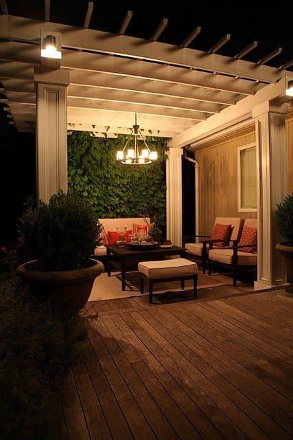 8' x 10' Cedar Pergola - Melville, Long Island NY