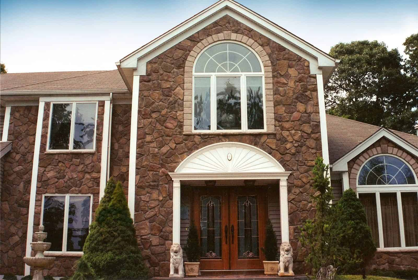 Cultured Stone Dressed Fieldstone - Bucks County - Manhasset, Long Island NY