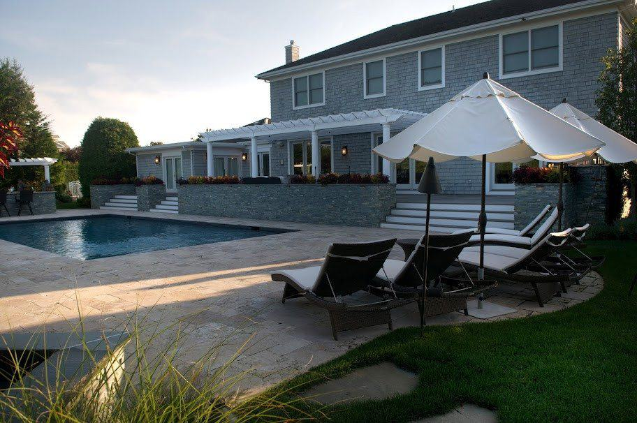 14' x 25' Cedar Pergola - Southampton, Long Island NY
