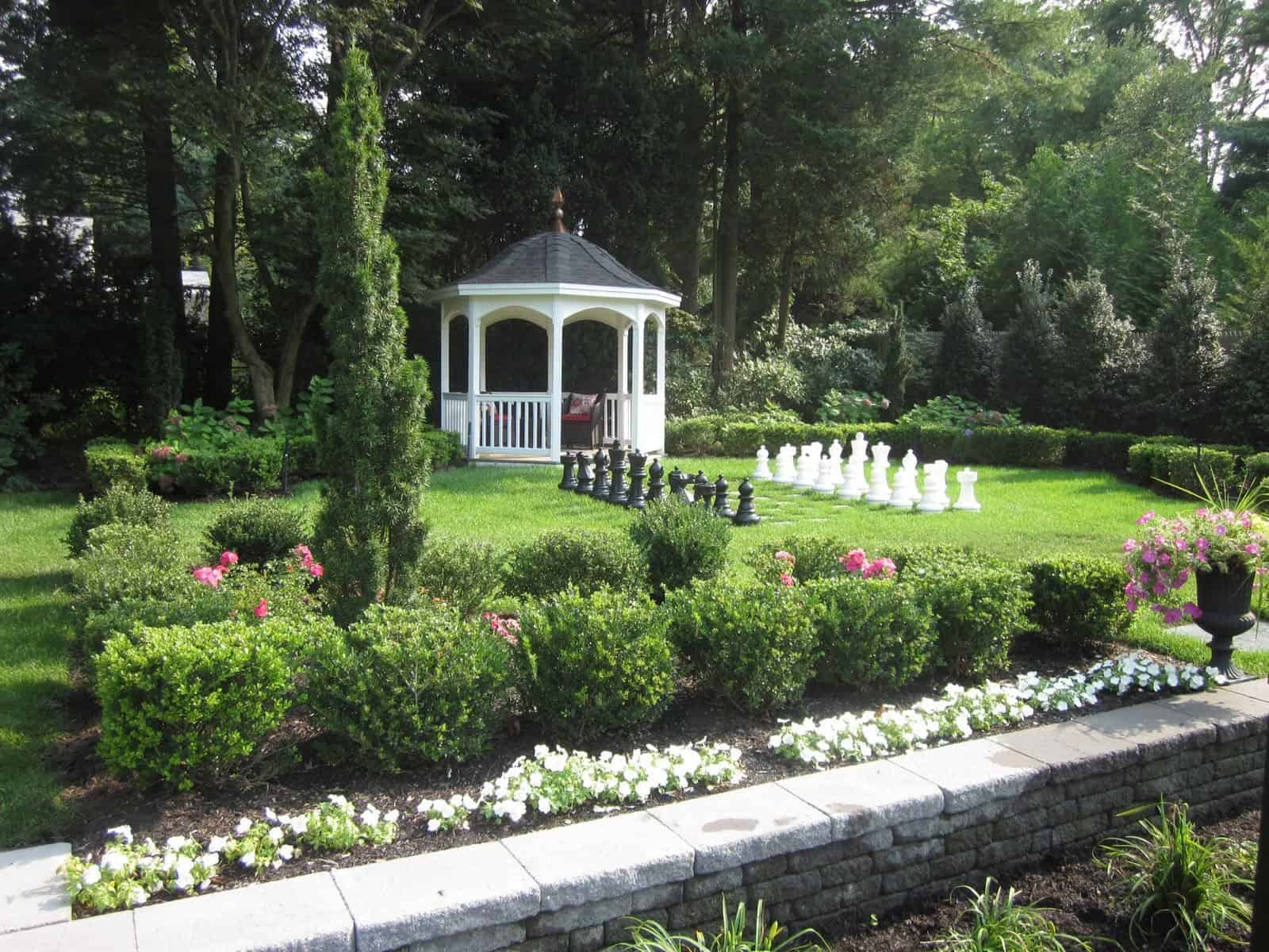 10' x 10' Amish Gazebo with Bell Roof and Cupola - Glen Cove, Long Island NY