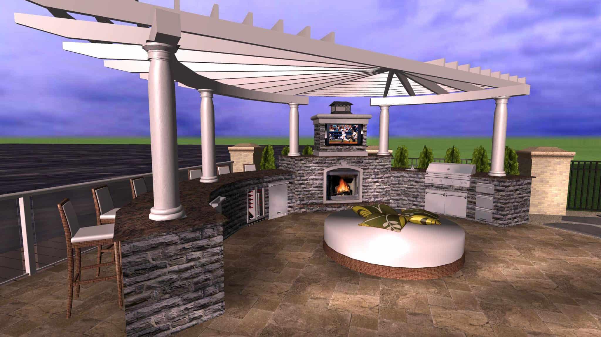 Landscape Design - Masonry - Long Island, NY