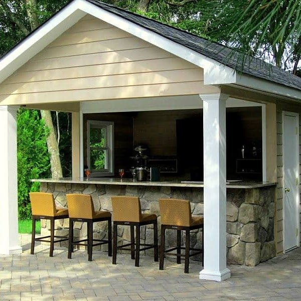16 x 20 ft. Pool House-Cabana