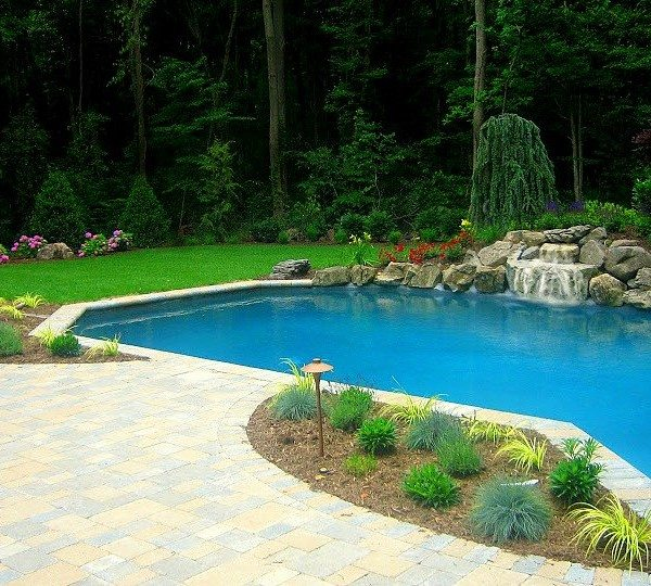 A Gunite swimming pool is the ultimate backyard amenity