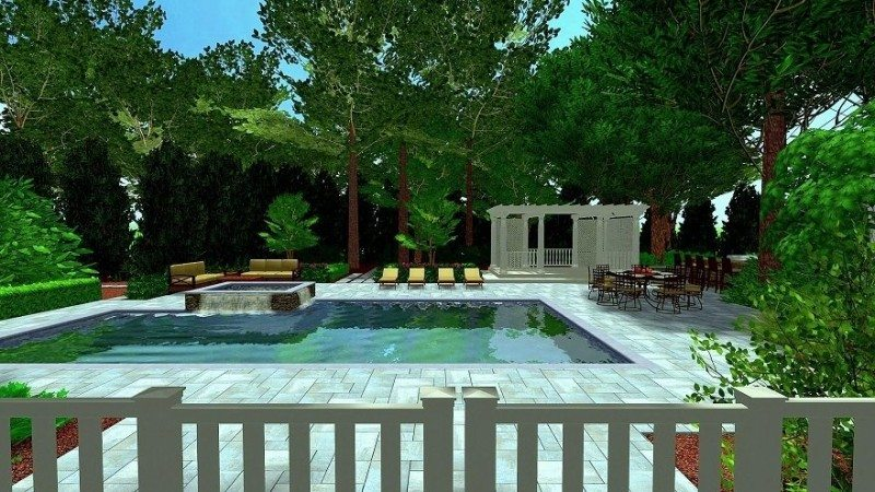 Casual Outdoor Living at Its Finest | Green Island Design on Relaxed Outdoor Living id=19845