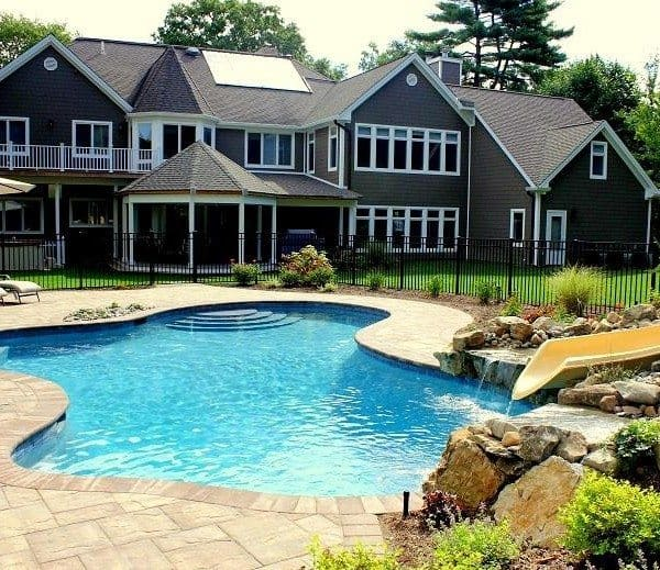 Free-Form Gunite Pool
