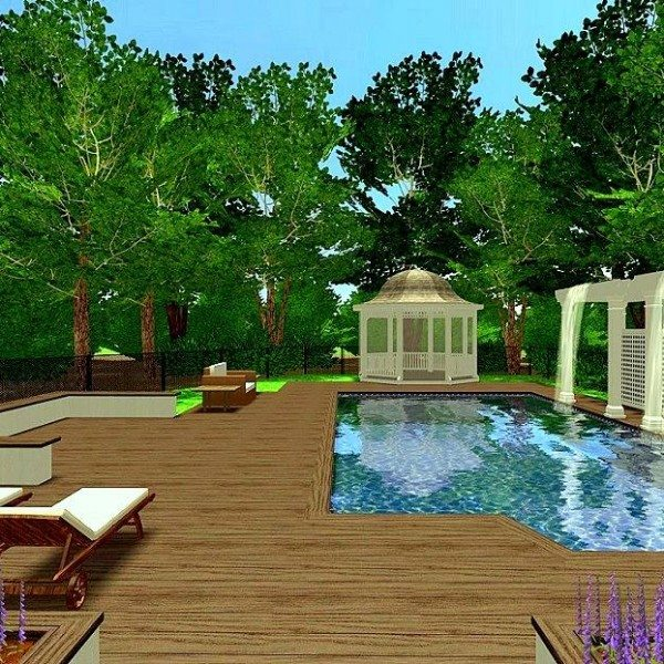 Custom Landscape Design Renderings