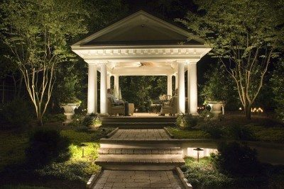 Landscape lighting will change the way you appreciate your landscape!