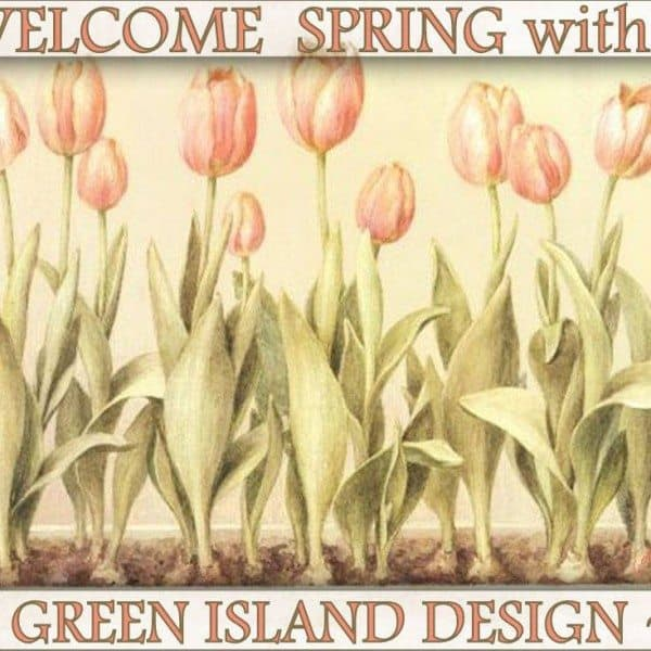Welcome Spring with Green Island Design