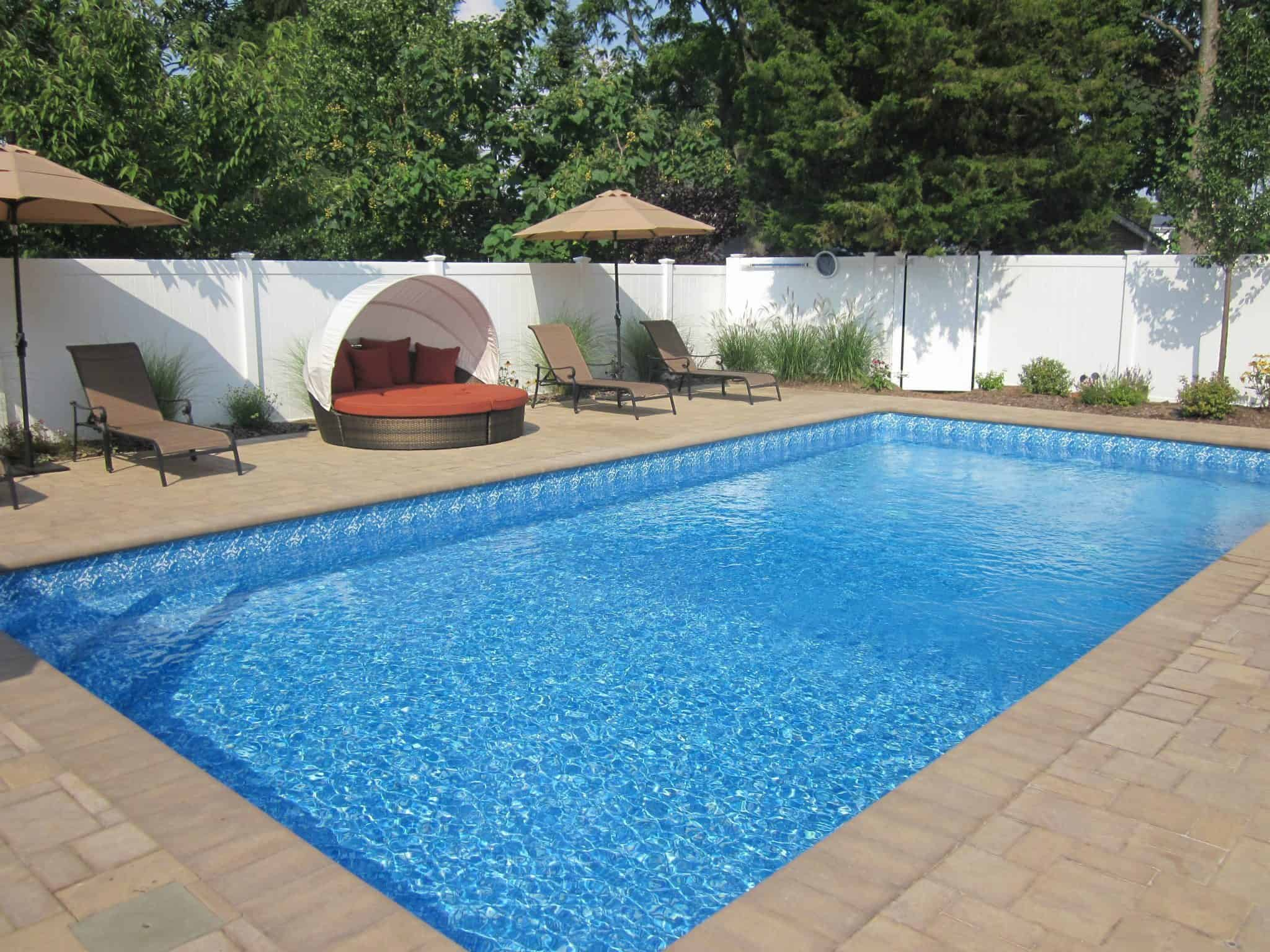 16' x 32' Pool with LED Color Changing Light - Bellmore, Long Island NY