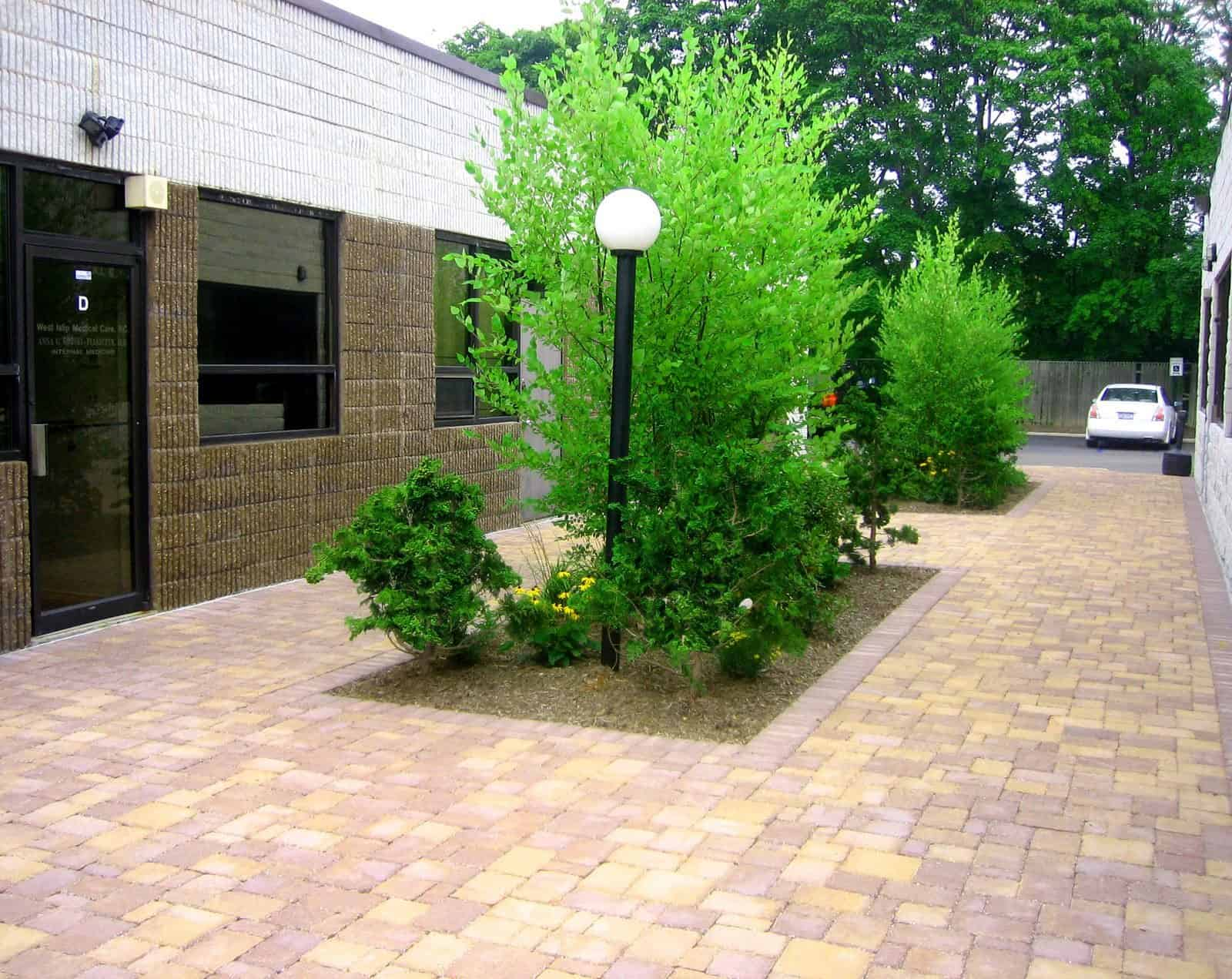 Paver Patio - Techo Bloc Paver Patio - Elena - Sandlewood - Random Pattern - West Islip, Long Island NY