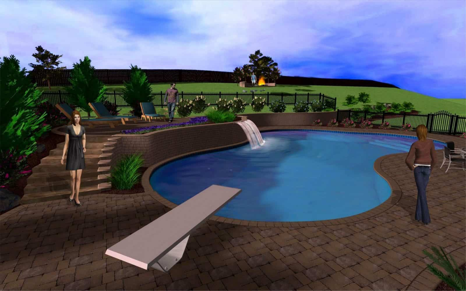Landscape Design - Pools & Spas - Long Island, NY