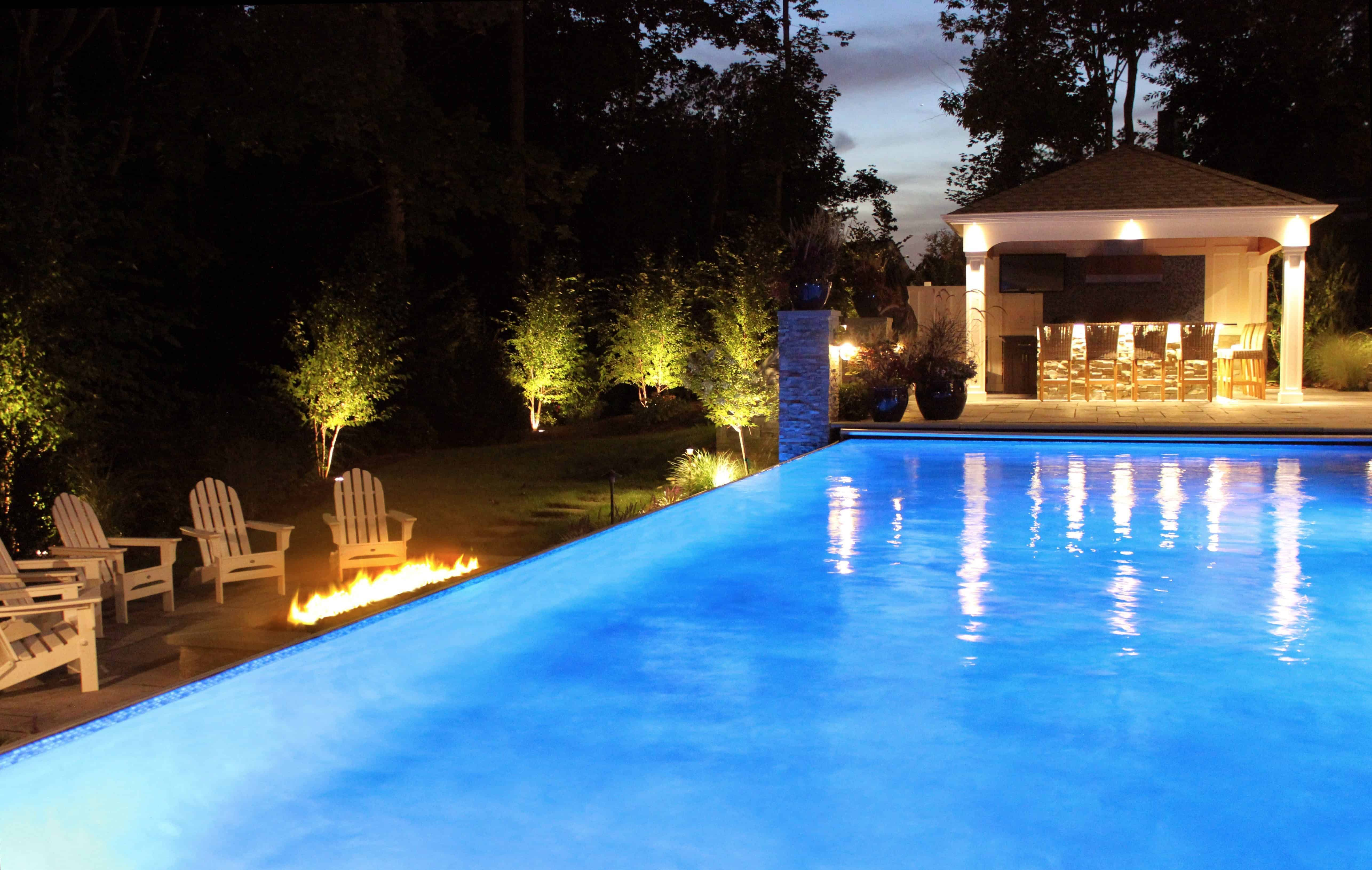 16' x 32' Pool with Fiberglass Steps - Dix Hills, Long Island NY