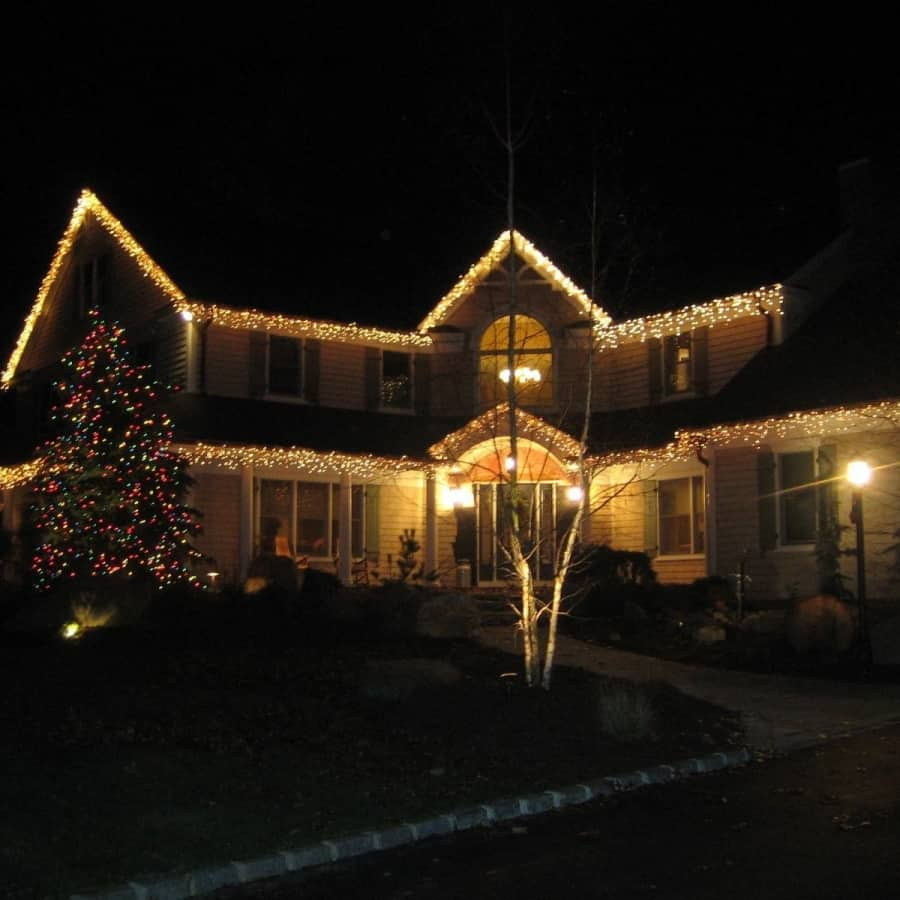 Outdoor Holiday Lights - Southampton, Long Island NY