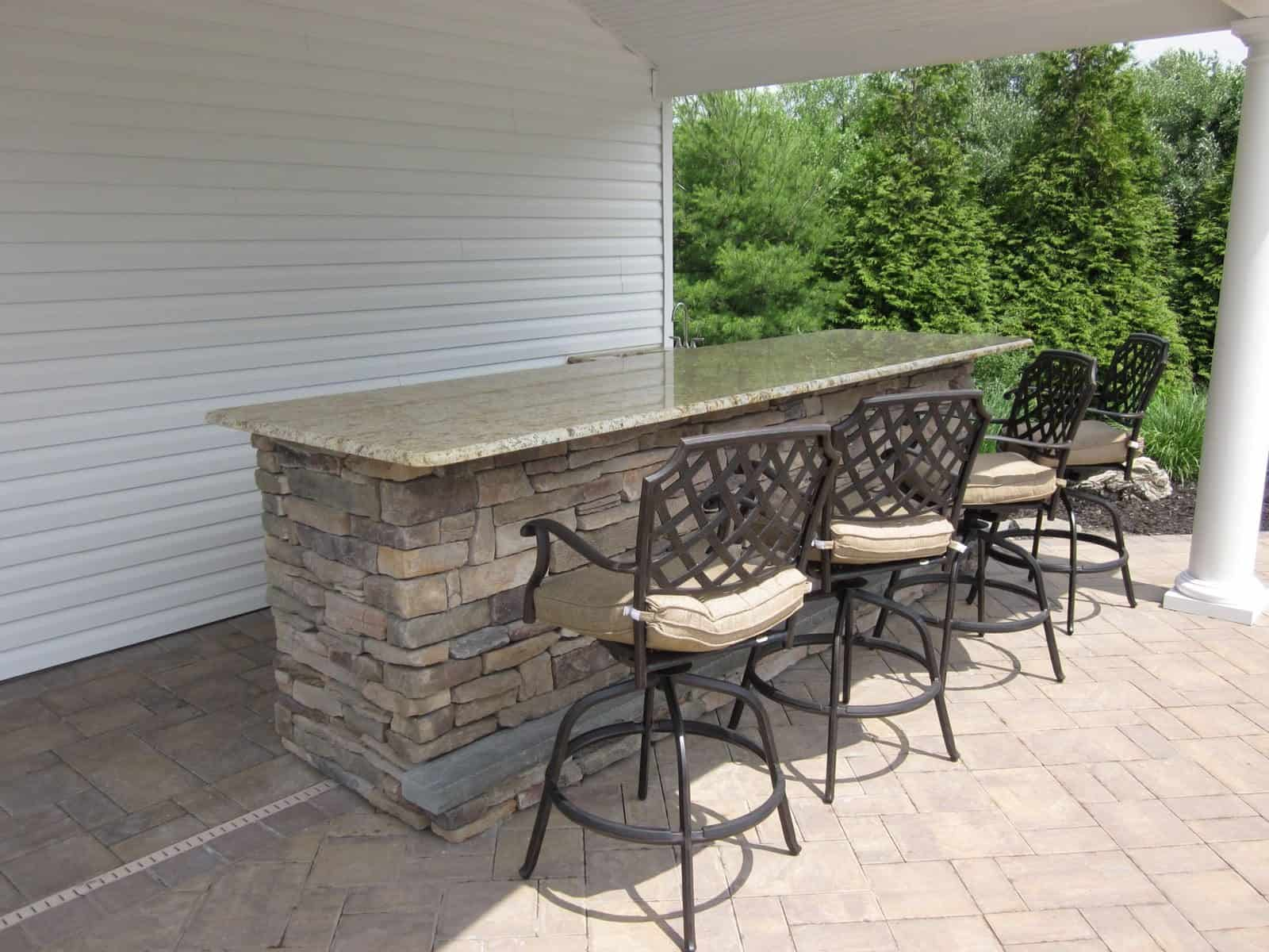 Outdoor Kitchens Amp Bars Outdoor Bars Long Island