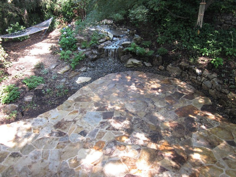 5' Stream and Moss Rock Pondless Waterfall - Port Washington, Long Island NY