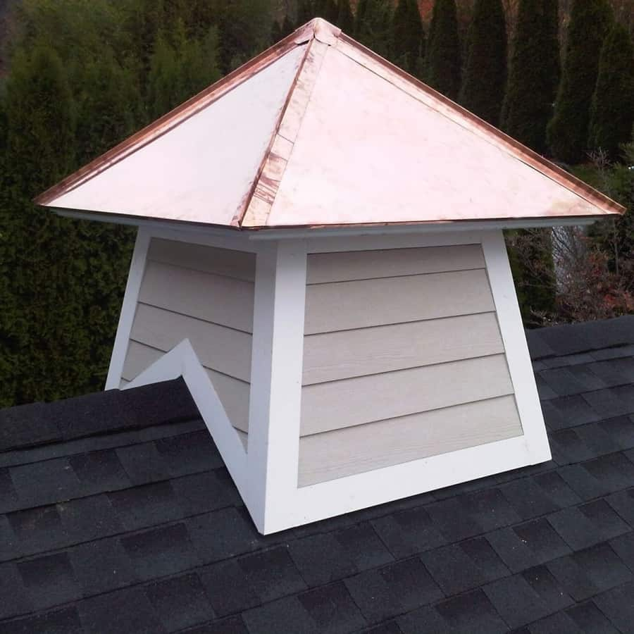 Cupola with Copper finish - Roslyn, Long Island NY