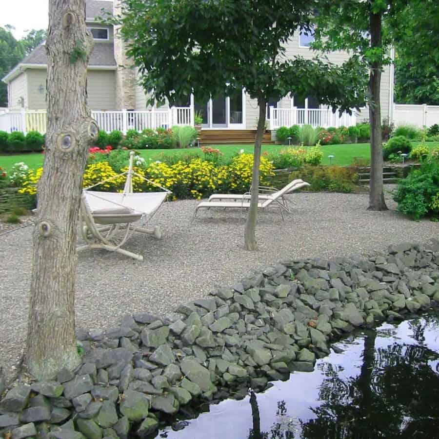 Landscape Plantings - Rudbeckia Black Eyed Susan and mixed perennials - Babylon, Long Island NY