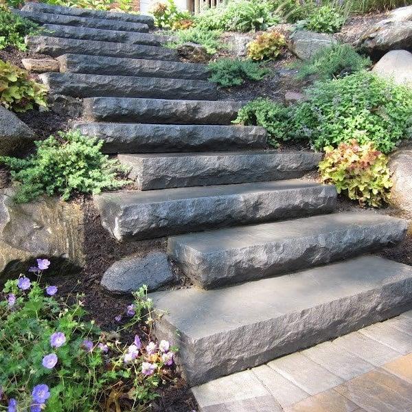 Custom Masonry | Patios Stoops & Walkways Landscape Design Long Island