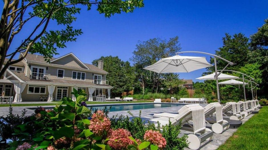 Landscape Design Old Field | Pool Installation Long Island | Green Island Design
